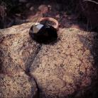 Black Crystal Ring