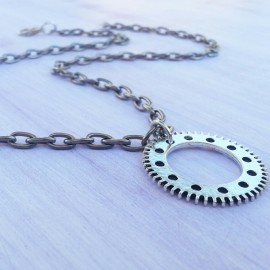 Gear Up Necklace