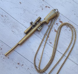 Sniper Rifle Necklace